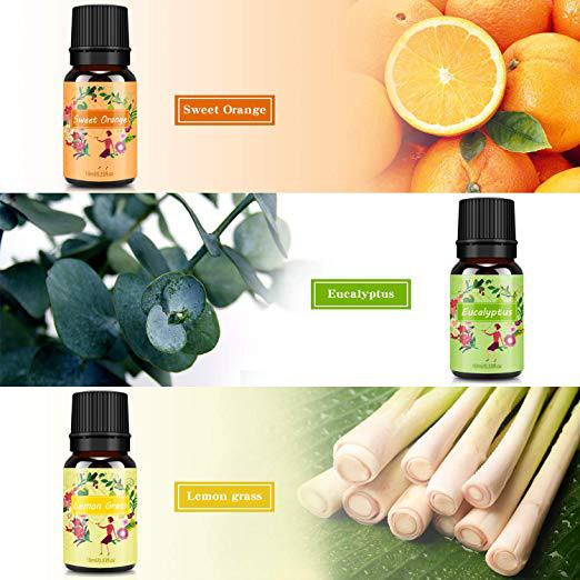 aceites con esencia para humidificador difusor