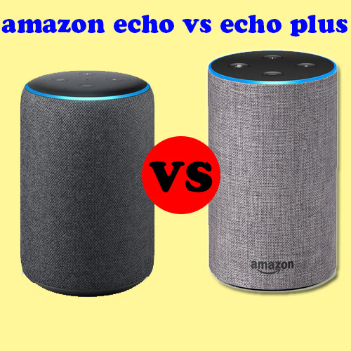 amazon echo vs echo plus