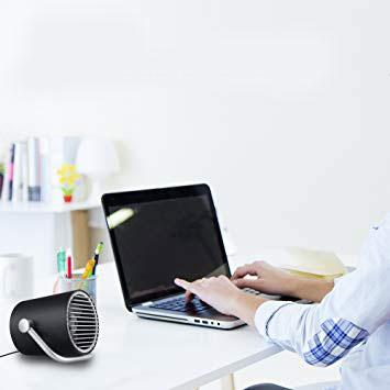 ventilador de escritorio USB