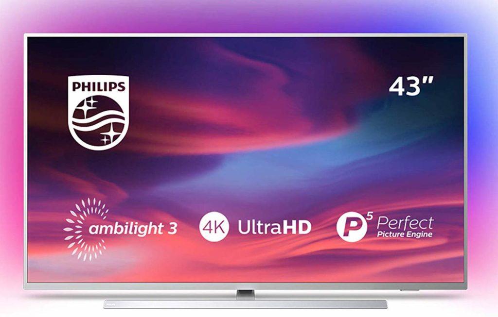 televisores Philips 4K compatibles con alexa