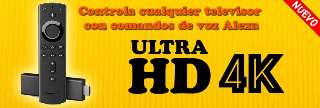 Nuevo Fire Tv Stick 4k con voz de Alexa en Español