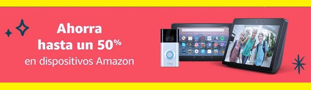 descuentos en dispositivos Amazon Alexa a mitad de precio