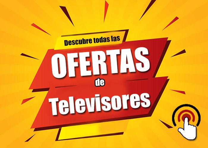 imagen de las ofertas en televisores en amazon