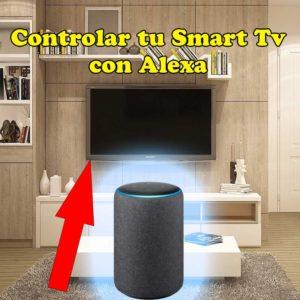 como conectar alexa en español a mi tv smart