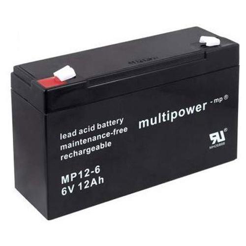 bateria para quad electrico de niño 6v