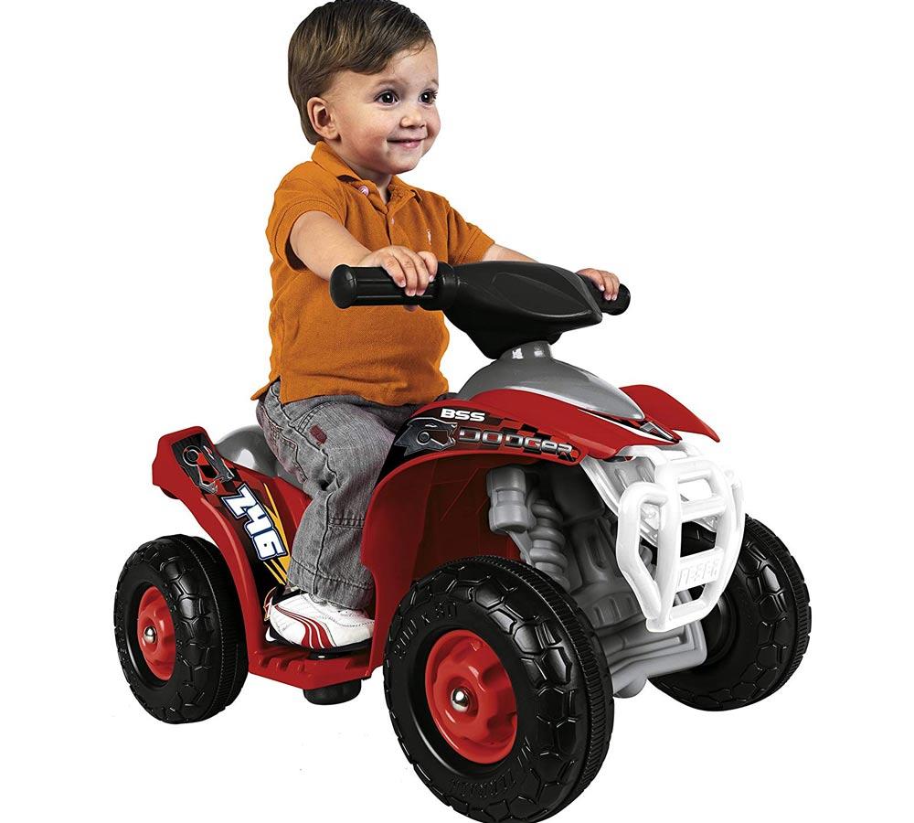 quad electrico para bebe