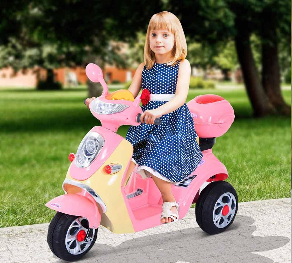 moto electrica de 3 ruedas para niños