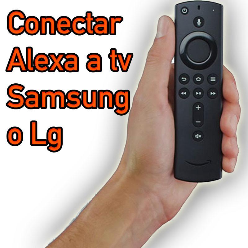 Como conectar tv lg o samsung a Alexa