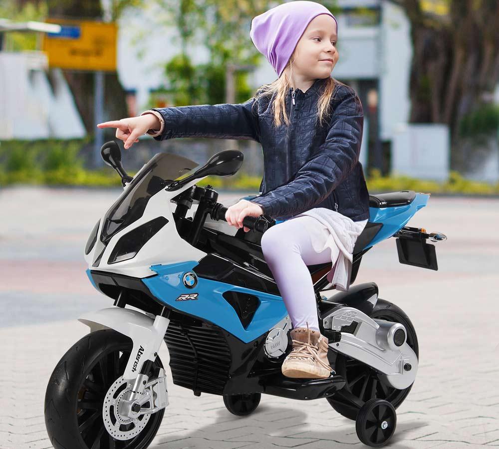 moto bmw niño bateria