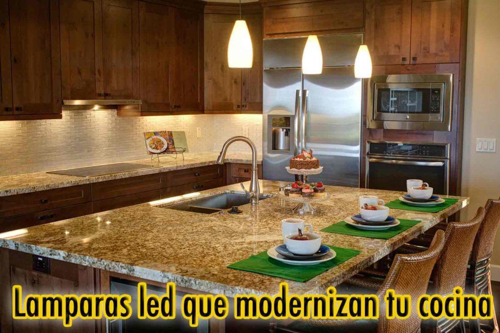 iluminacion led bajo muebles cocina