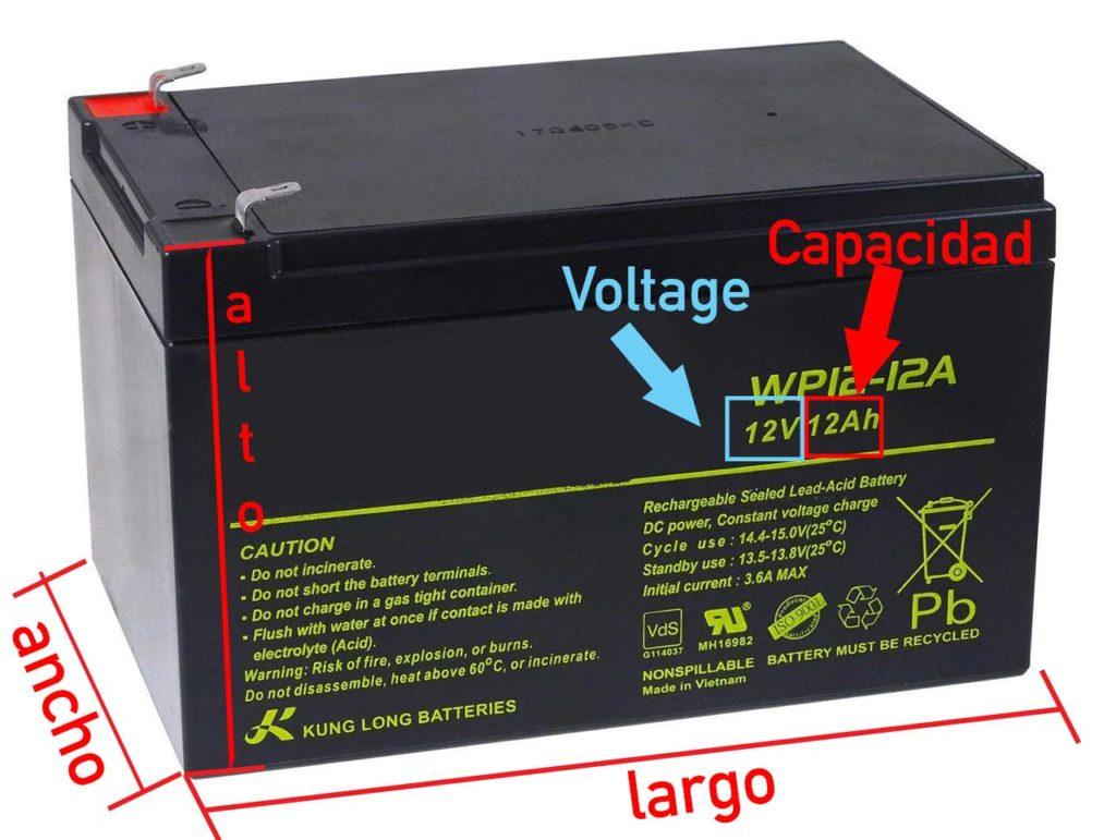 como comprar una bateria para autos electricos de niños