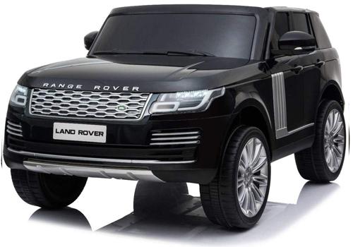 range rover 12v para niño color negro