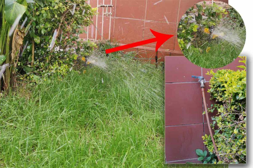 como instalar riego automatico de jardin pequeño