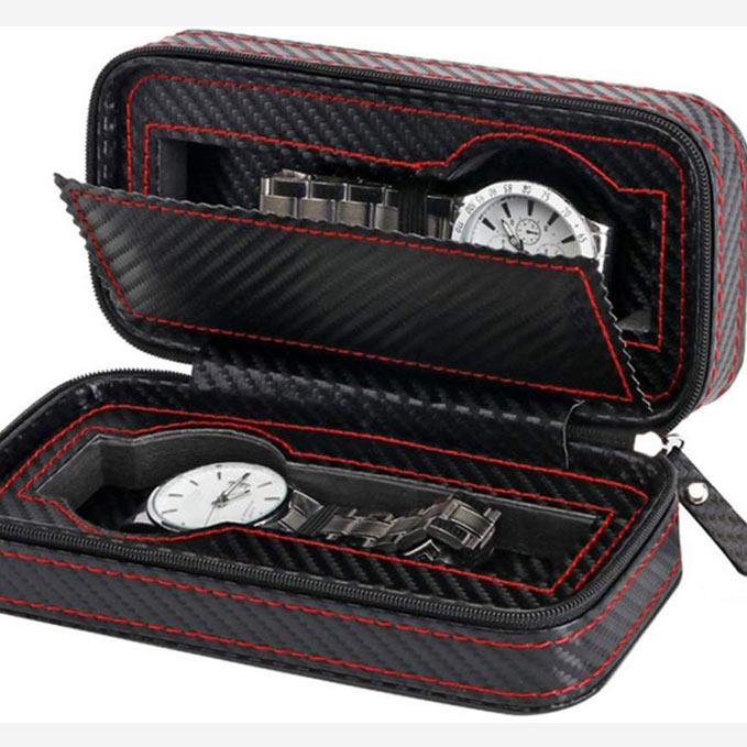 caja para relojes portatil para viajes