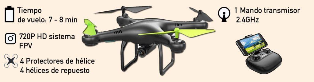 drones baratos con video en tiempo real