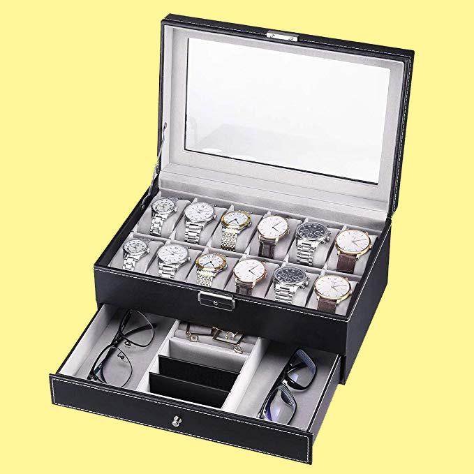 caja de regalo para hombre para guardar relojes