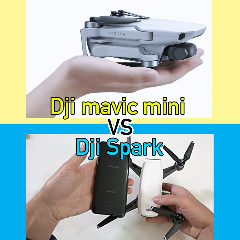 dji mavic mini vs spark comparativa y con que dron comenzar