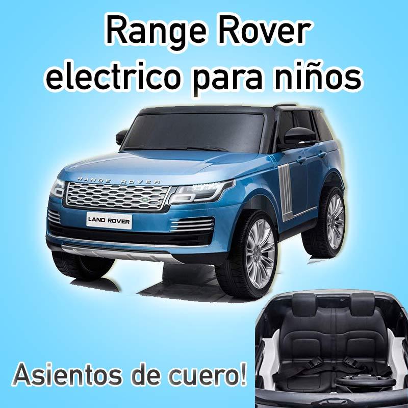 range rover electrico para niños