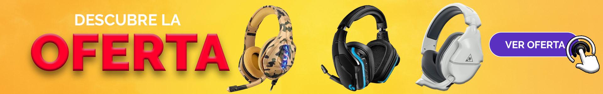 oferta de auriculares bluetooth que funcionan con ps4