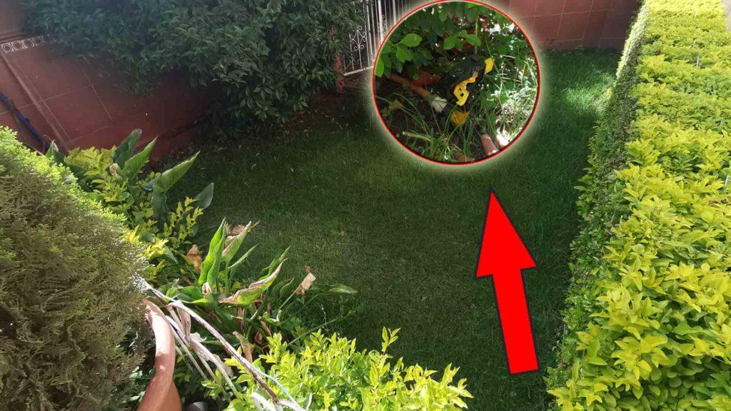 trabajos de casa riego automático de jardin facil de instalar