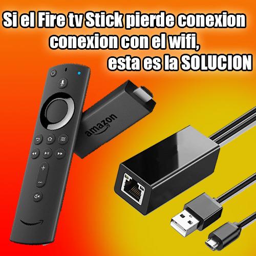 imagen de la solucion de perdida de conexion wifi del fire tv stick