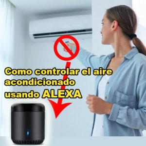 como controlar el aire acondicionado con alexa