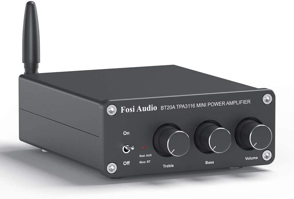 amplificador para conectar bocinas antiguas a la tv