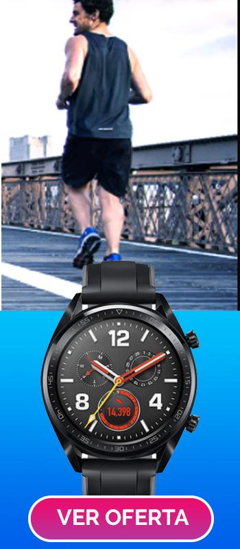 reloj cuenta calorias mientras caminas o corres