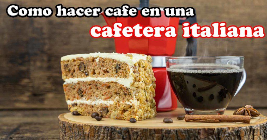 tutorial como preparar cafe en una cafetera italiana