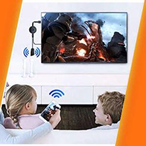como convertir la tele en smart tv usando dongle chromecast