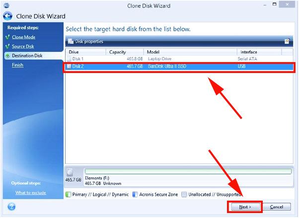 Paso 4 como clonar el disco hdd a ssd y mejorar windows si tu ordenador va muy lento