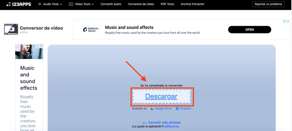paso final para solucionar el problema de audio si no se oye en tu proyector