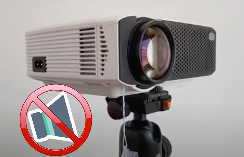 solucion proyector apeman no se oye