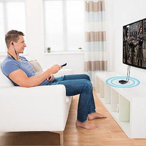 auricular inalambrico para tv sin bluetooth