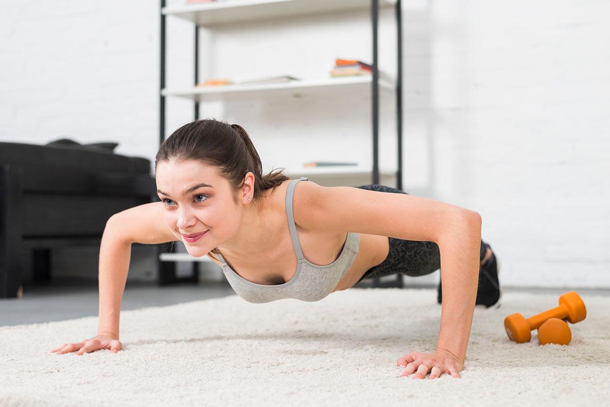 flexiones para bajar 10 kilos